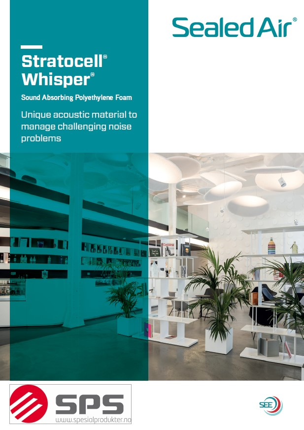 Whisper brochure frontpage